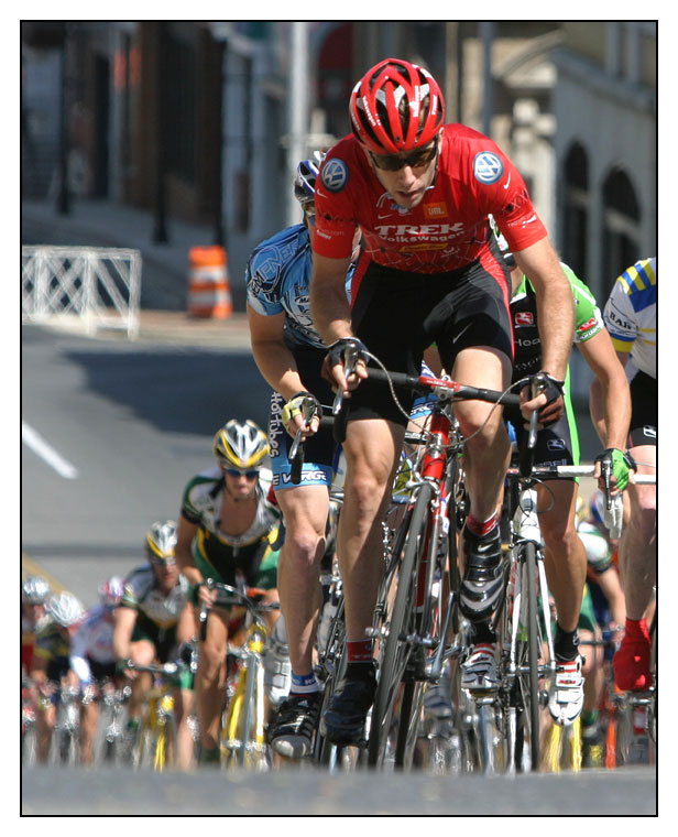 Jeremiah Bishop, Tour of Shenandoah, 2006.  Photo copyright BlackBird Images.
